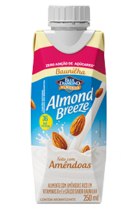 Almond Breeze Baunilha Zero Açúcar 250ml