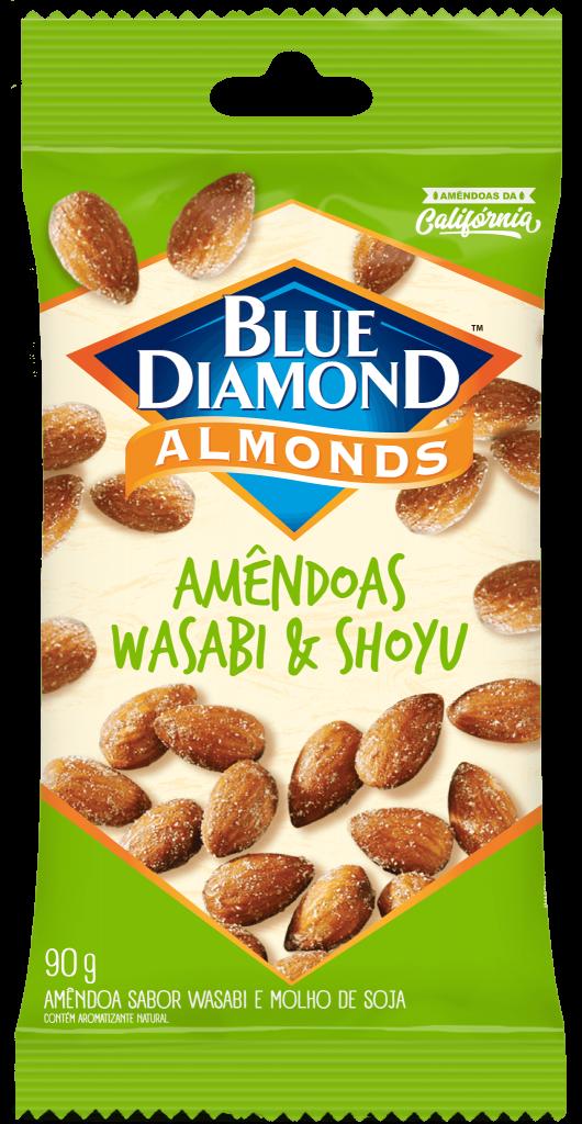 Amêndoas wasabi & shoyu 30g / 90g