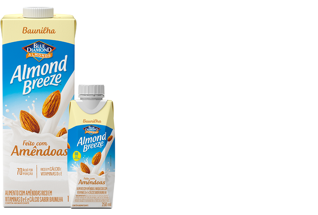 Almond Breeze Baunilha