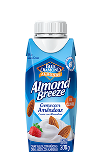 Creme com Amêndoas Almond Breeze